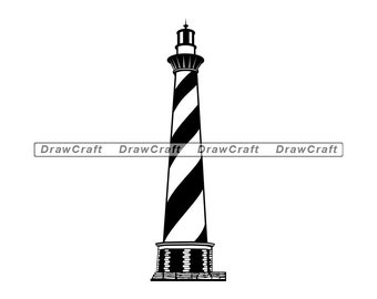 Anchor Lighthouse Sailboat Sea Captain Ocean Big Wave Svg Vector Eps Png Dxf Cricut Cameo Silhouette Print Cut T shirt Logo Tattoo Laser