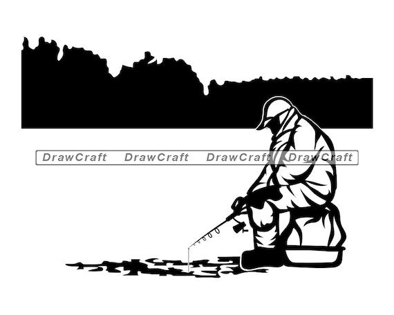 Download Ice Fishing 3 Svg Ice Fishing Svg Fishing Svg Fisherman Etsy