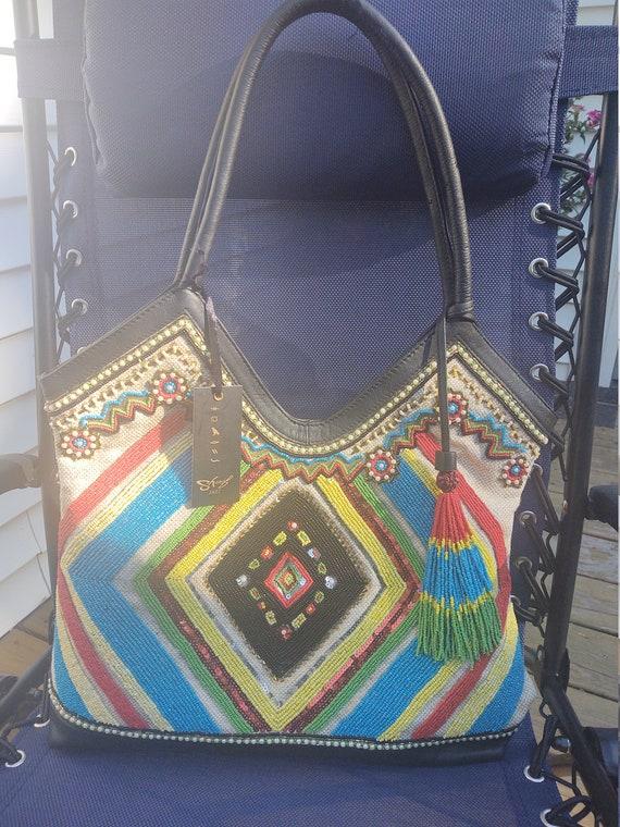 beaded handbag by Sharif - image 5