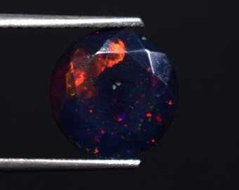 Gorgeous Black Opal From Ethiopian mine 2.11 Cts
