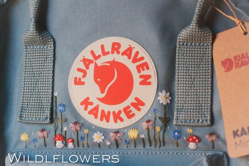 Send me your Kanken! Hand Embroidered Custom Kanken