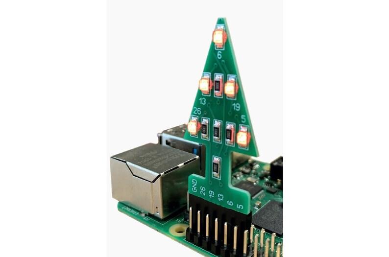 GPIO Xmas Tree for the Raspberry Pi image 0