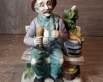 Old Farmer Man Collector's Edition Figurine by FEI