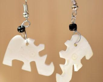 Handmade Cattle Horn Necklace