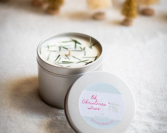 Oh, Christmas Tree Soy Candle - 16 oz