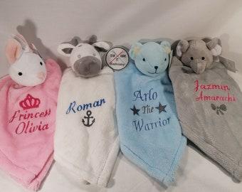 Baby Soft Snuggle Blanket Teddy Bear,Rabbit Girls,Boys Christmas Gift Idea