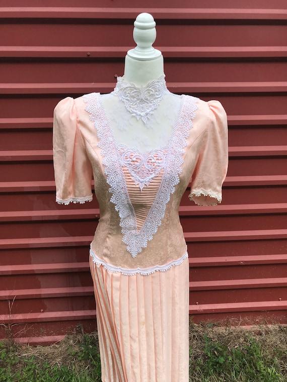 Vintage Scott McClintock 1980's Dress