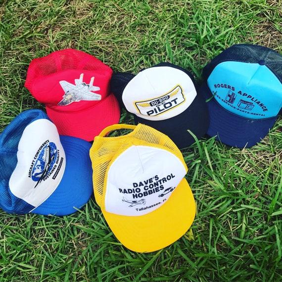 Lot of Vintage Trucker Hats / SnapBack