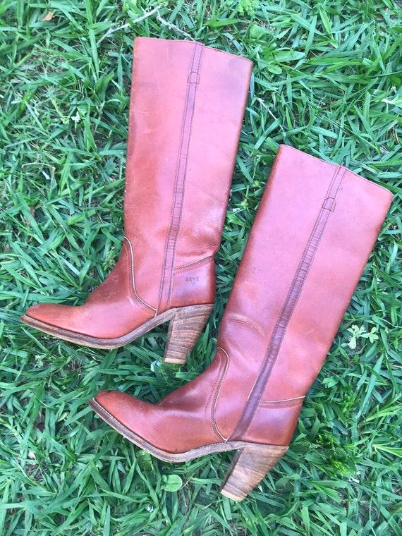 Vintage 1970's FRYE Boots model 7110