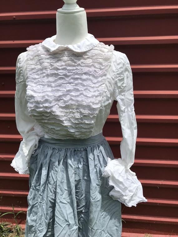 Incredible 1920's / 1930's Serving Dress w Apron