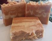 Papaya and Turmeric soap, Skin brightening soap, Turmeric soap, Papaya soap