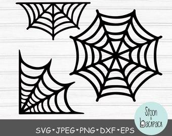 Spider Web Svg Etsy