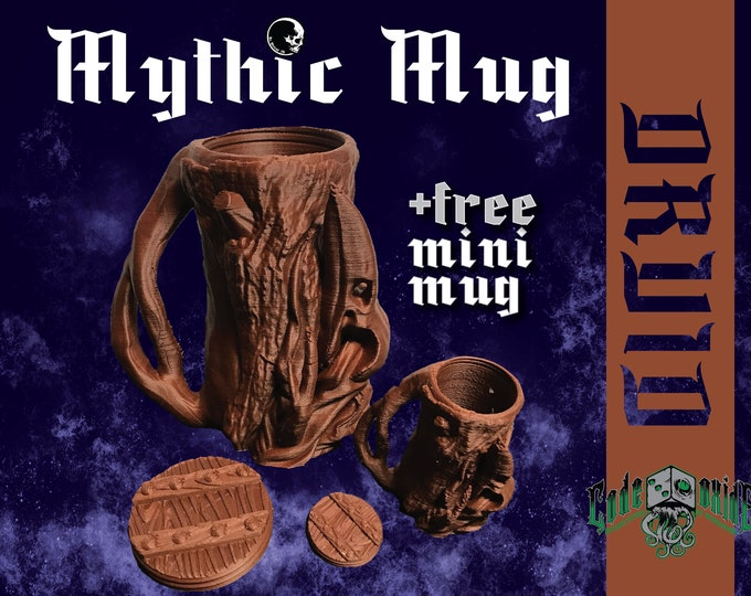 DRUID- Mythic Mug Can System +MINI MUG