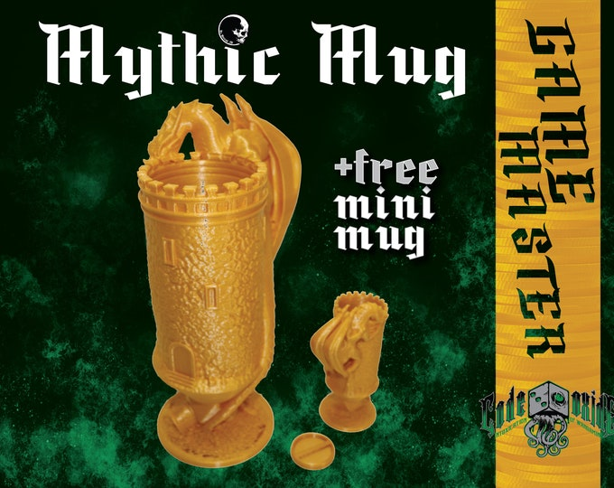 GAME MASTER- Mythic Mug Can System + mini mug