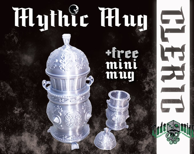 CLERIC- Mythic Mug Can System +MINI MUG