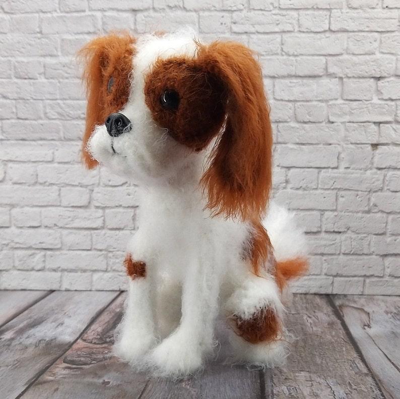 Crochet Pattern Dog Cavalier king charles spaniel English Deutsche Polish PDF