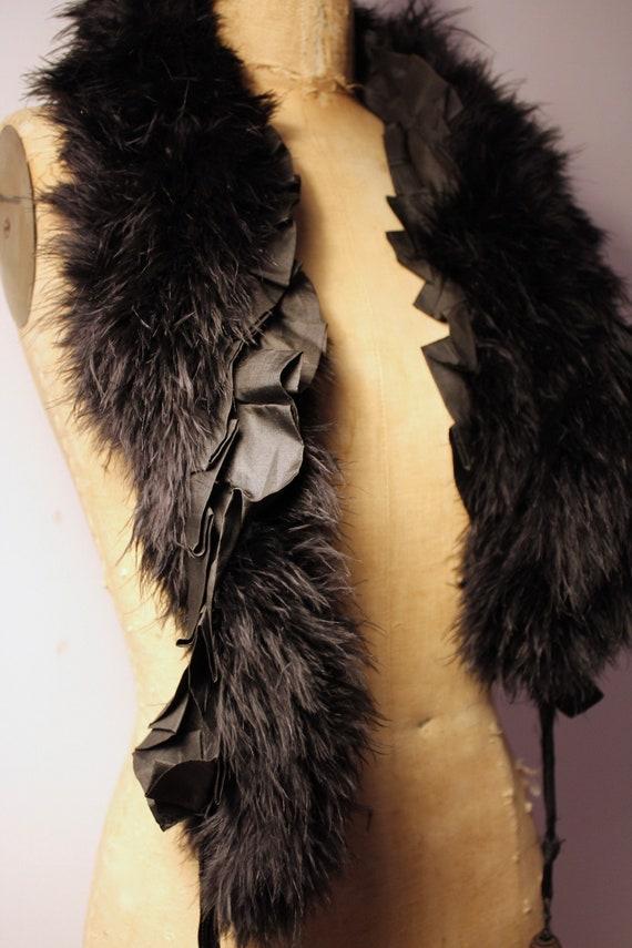 Feather and Silk Boa, 1900 / Feather and Silk Boa,