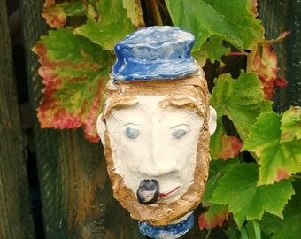 Garden plug HARM, ceramic object, garden figure