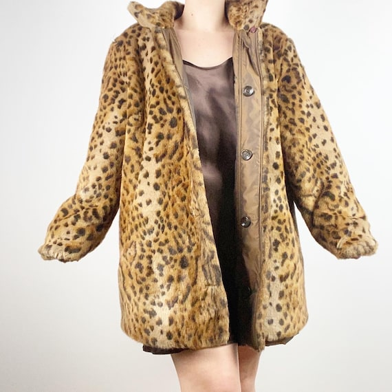 Reversible Cheetah Jacket