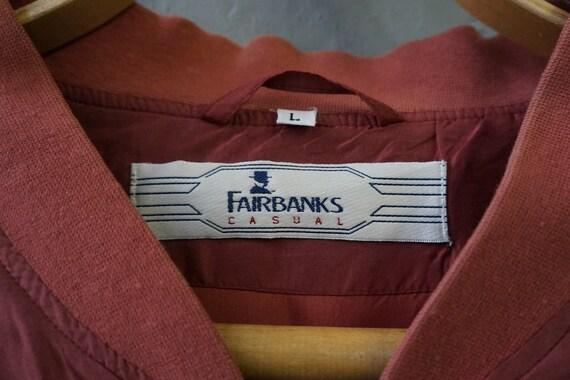 Vintag 90s Pastel Red Bomber Jacket Pink Silk Bom… - image 9