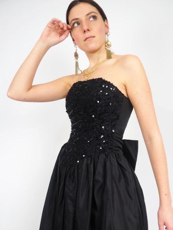 ROBE BUSTIER A SEQUINS   /   Bustier sequin dress