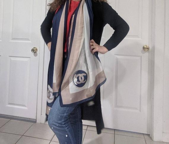 Chanel scarf vintage