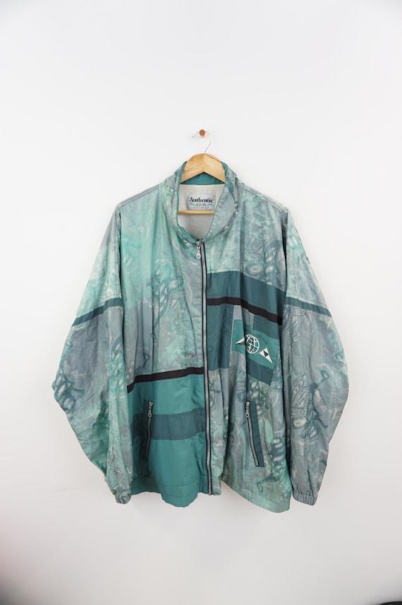 Turquoise,light jacket,Cardigan Pepita XL