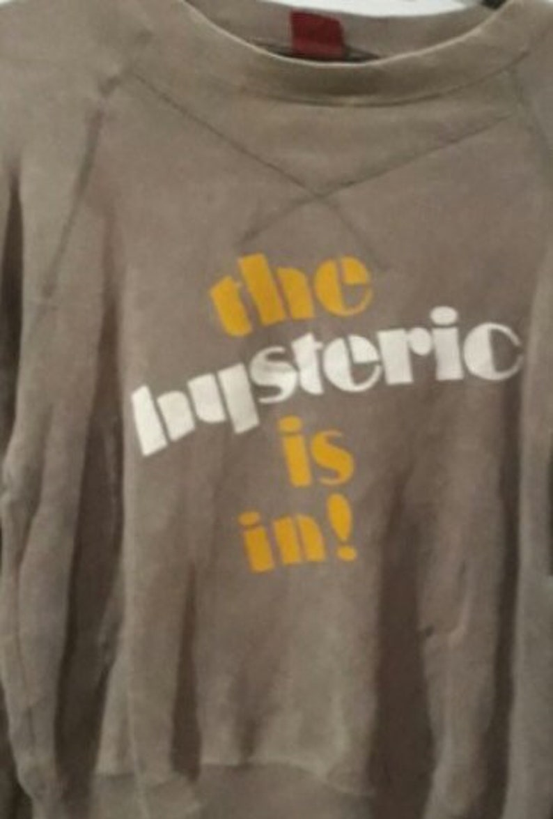 hysteric glamour big logo the hysteric is in!