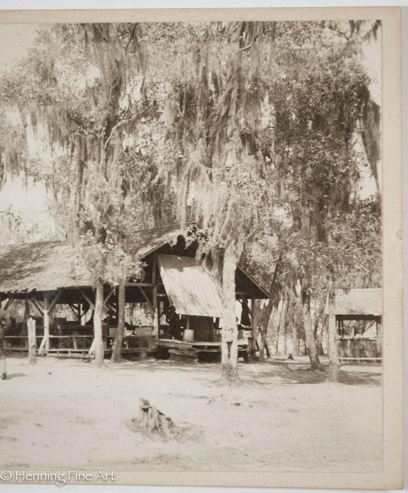 Historical Antique Military Candid Photograph C1900 Tampa Lakeland Florida 3439