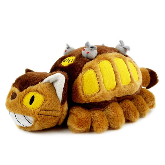 30cm Totoro Cat Bus Plush My Neighbor Totoro Soft Toy Stuffed Animal Plush Studio Ghibli Novelty Soft Toy Gift Boy Girls Party Favors Gifts
