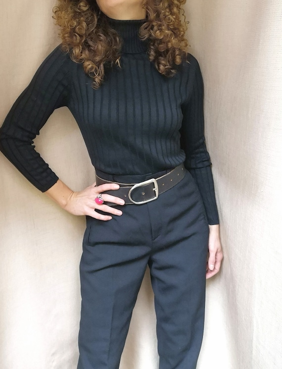 Vintage silk turtleneck from Betty Barclay