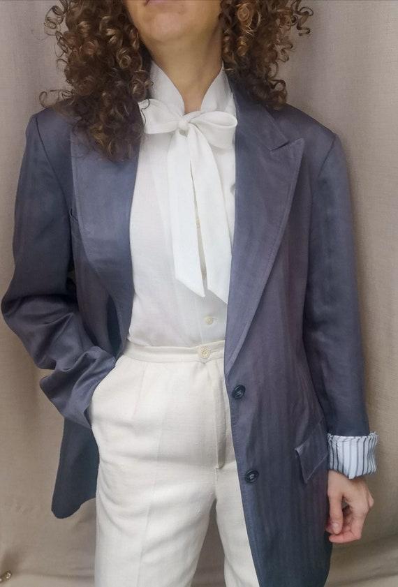 Luxurious Pierre Cardin silk jacket