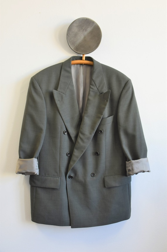 Hugo Boss oversized double-breasted blazer