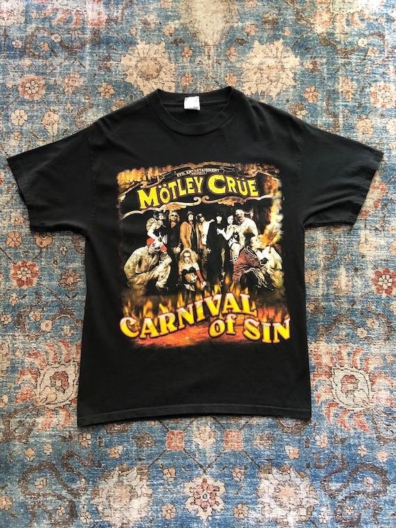 Motley Crue Carnival of Sin 2005 Tour Vintage Dist