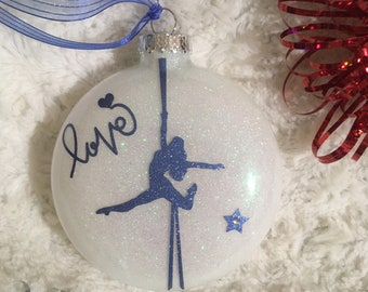Aerial Silks Ornament - Alyssa