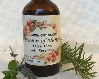 Midnight Moon Queen of Hungary Floral Facial Toner
