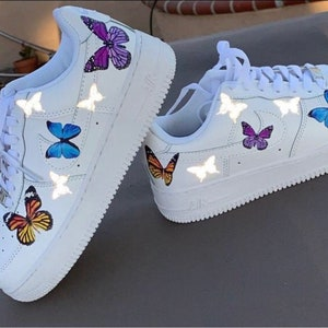 air force 1 mariposas