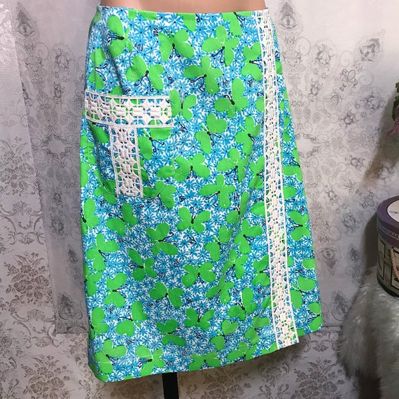 Rare Lilly Pulitzer The Lilly Faux Wrap Skirt Wome