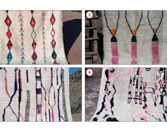 Azilal Rug, Moroccan Rug, Vintage Rug, Wool Rug, Hand-woven Rug, Berber Rug, Moroccan Rug, Carpet