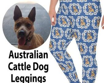Australian Cattle Dog Molly Plus Size Leggings for women