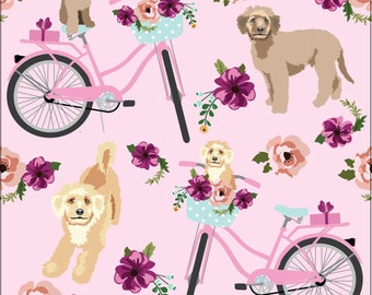 BLANKET GOLDENDOODLE Dog - Pet Throw Blanket - Dog Mom Gift - Comforter - Quilt