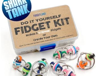 Fidgetland DIY Fidget Kit - As Seen on Shark Tank
