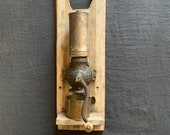 Antique Coffee Grinder Mill - Arcade Crystal 1800 39 s Wall Mount - Metal Coffee Bean Holder - From an old Mining Cabin near Telluride, CO