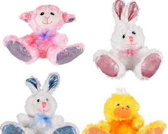 """NEW Russ Easter Spring Fling Animal """"Lamb"""" Floral Girl Headband"""