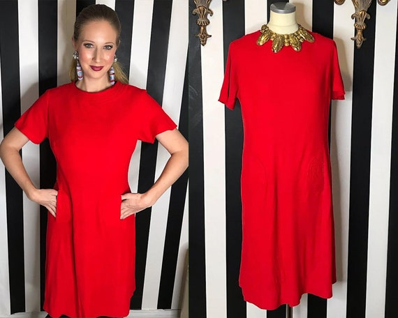 Volup Vintage 60s Mod Dress | Vintage 1960s Dress