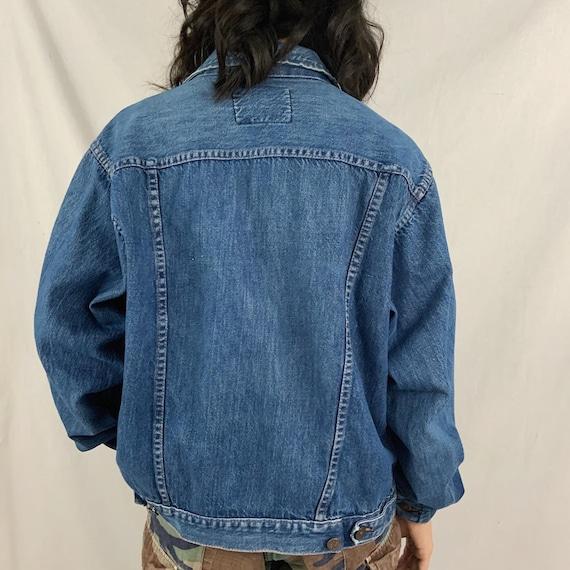 Vintage 60s Yorke Sportswear Blue Denim Jean Jack… - image 2