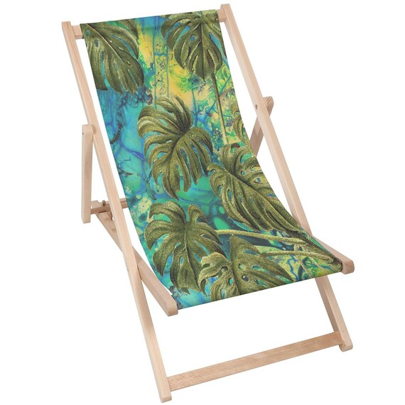 2 PACK PATIO Travel Seat Wooden Deck Chair Folding Garden Beach Seaside CHAIR