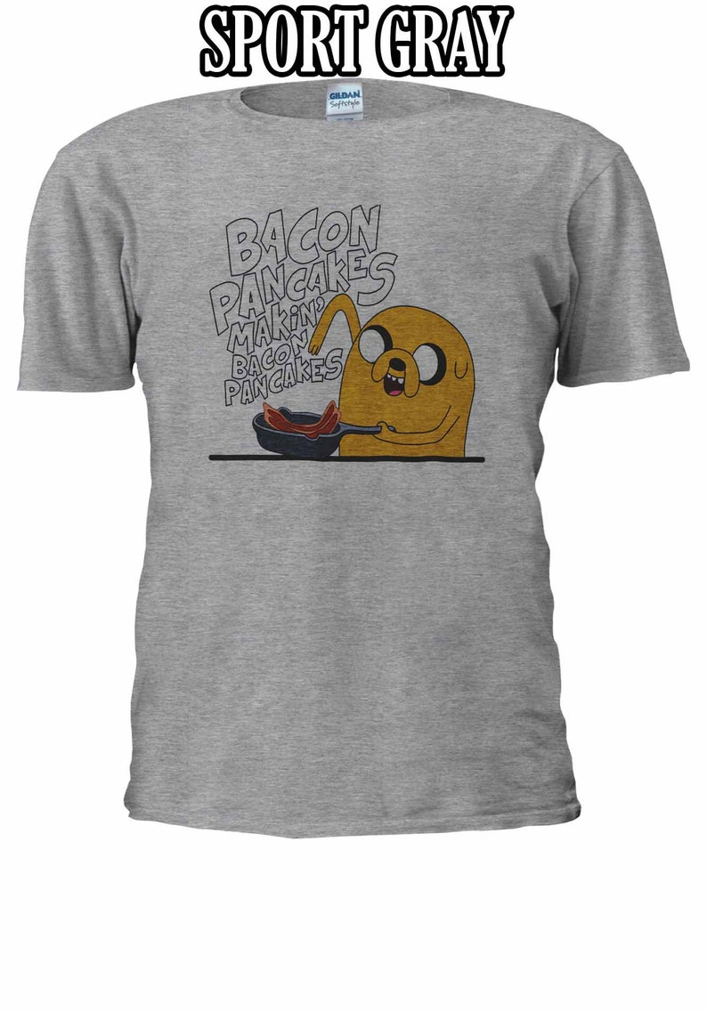 Jake Bacon Pancakes T-shirt Vest Tank Top Men Women Unisex 2440