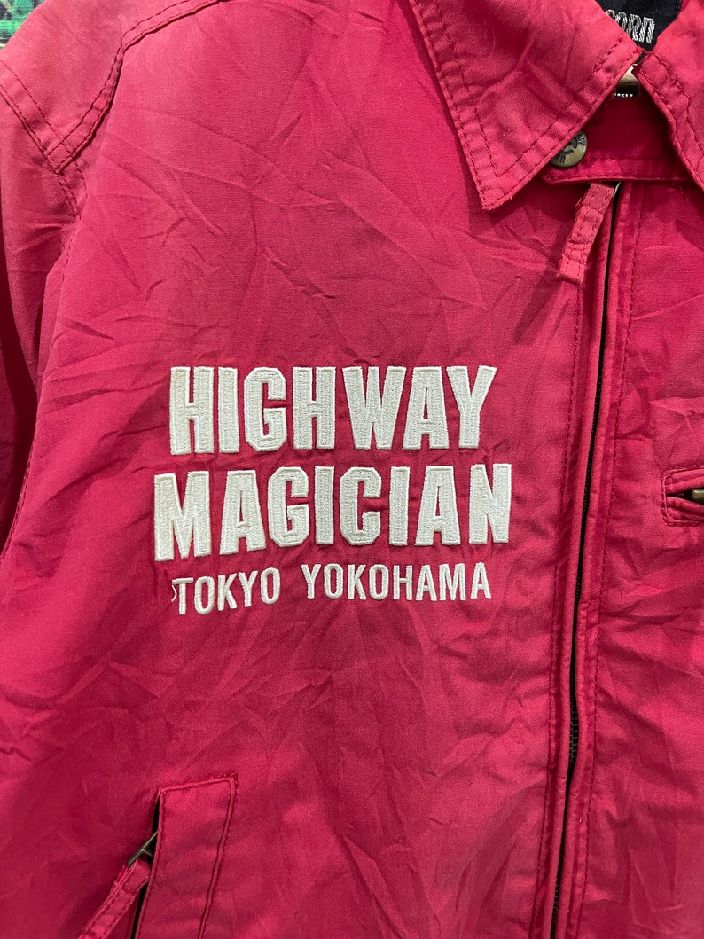 code:KAP Vintage Yellow Corn Motor Sports Tokyo Yokohama Highway Magician Racing Team Equipment