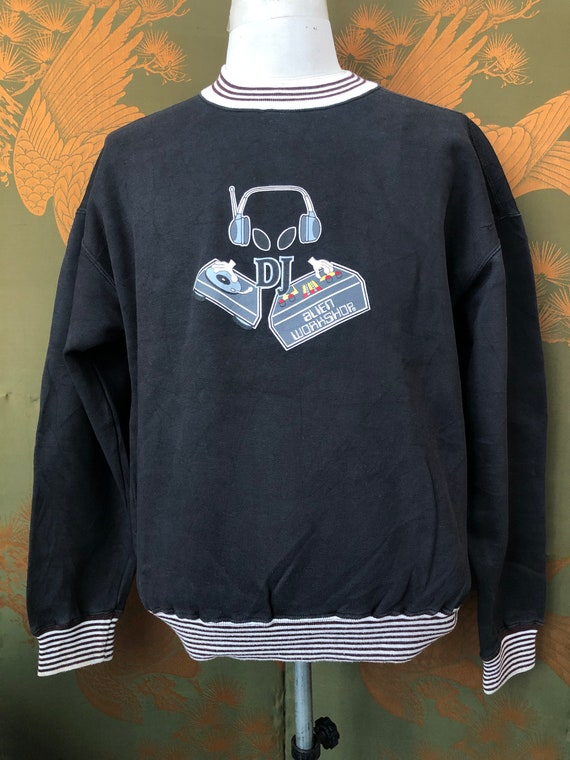 Vintage Alien Workshop big logo sweatshirt (code:D